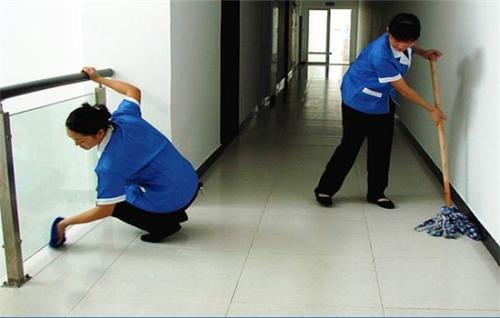 单位楼道清洁